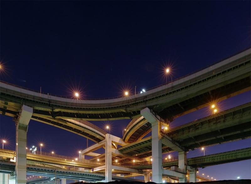 Дороги gt дорожные развязки gt япония