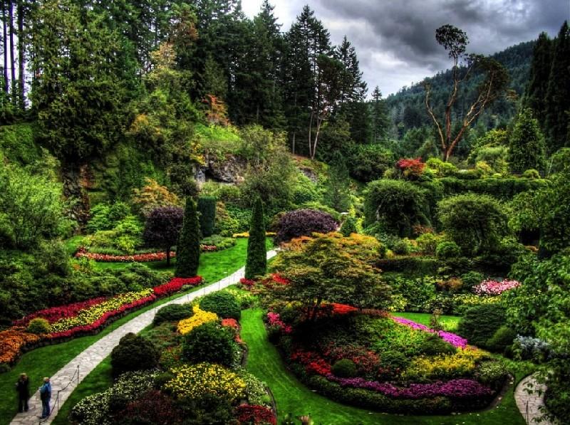 Самые красивые сады мира фото