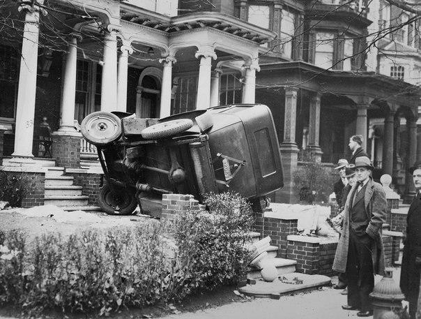 Автомобильные аварии в начале 20 века