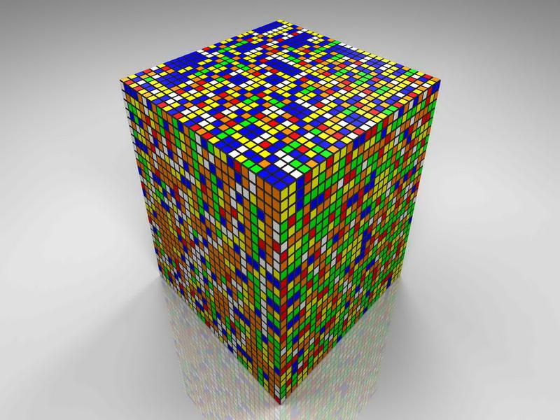 Кубик рубик как собрать схема.